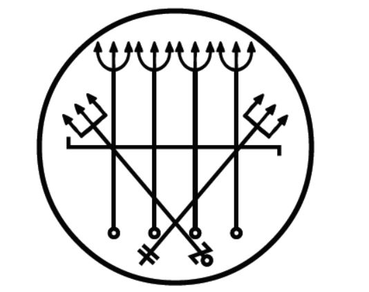 Понту рискаду Эшу Кавейры для поглощения вредоносных энергий, для равновесия и защиты